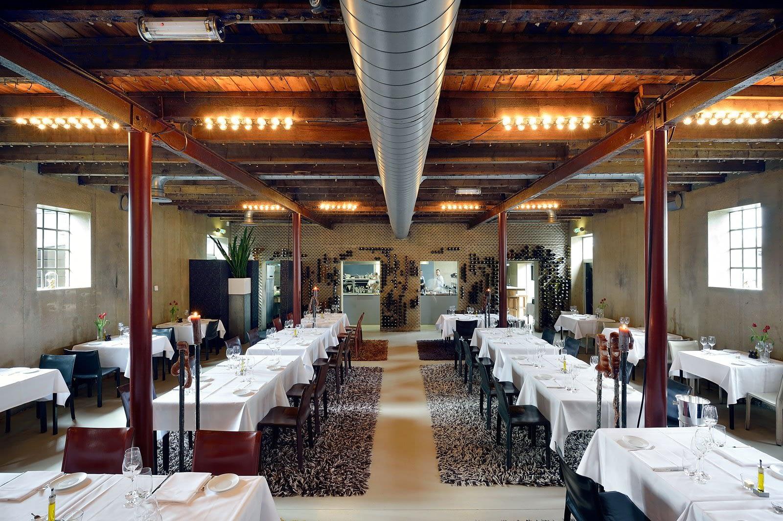 Gietvloer Restaurant Lute  Ouderkerk aan de Amstel